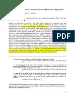 Mariotti -- American Democracy Forum Paper