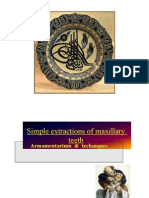 Microsoft Power Point - Simple Extractions of Maxillary Teeth
