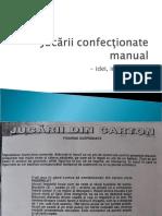 Jucarii confectionate manual - idei, instructiuni