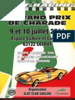 Affiche GPH de Charade 2011