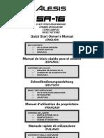 Manual Sr 16 Alesis