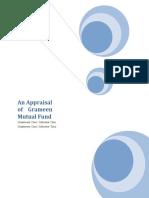 An Appraisal of Grameen Mutual Fund 12