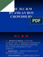 HUMAN CAPITAL RESOURCE MANAGEMENT