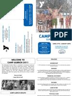 Wallingford Y Camp Ulbrich Brochure Summer 11
