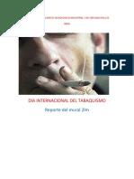 Dia Internacional Del Tabaquismo