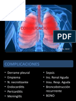 Complicaciones de La Neumonia