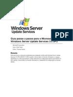 WSUS 3.0 SP2 - Passo a Passo