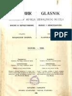 Glasnik Zemaljskog muzeja u BiH [godina 38; 1926.]