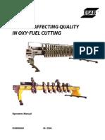 Oxy Fuel Cutting Quality