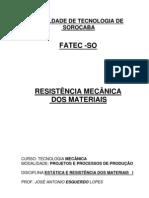 RESISTENCIA MECANICA MATERIAIS - PROF ESQUERDO