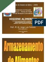 HIGIENE ALIMENTAR 04 - Armazenamento, Limpeza, Lixo e Pragas