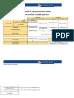 Calendário Escolar 2010_2011