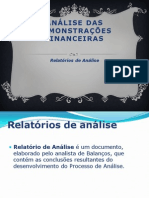 analise demonstrativa