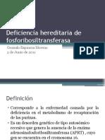 Deficiencia Her Edit Aria de Fosforibosiltransferasa