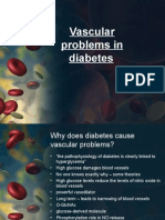 Vascular Problems in Diabetes