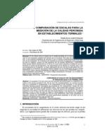 2006 Comparacion de Escalas Para Medicion Calidad Percibida en Establecimientos Termales