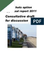 Draft Beach Hut Option Appraisal May 2011