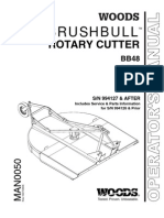 Woods BrushBull Rotary Cutter MAN0050