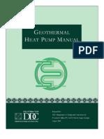 HVAC - Geothermal Heat Pump Manual