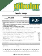 2010 - UEM Vestibular de Inverno - Biologia - Prova 3