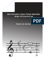 High Efficiency Audio Power Amplifier Van Der Zee
