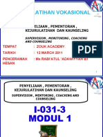 Modul 1 (Supervision , Mentoring , Coaching and Counseling)