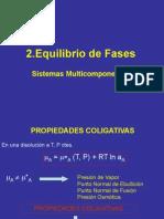 Capitulo 2 - Equilibrio Fases Sistemas Multicomponentes