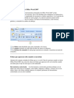 Interfaz de Usuario de Office Word 2007