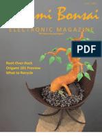 Origami Bonsai Electronic Magazine Vol 3 Issue 3