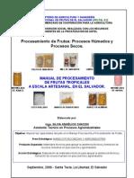UnManual procesamiento artesanal