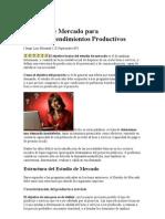 Estudio de Mercado Para Microemprendimientos