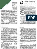 Vigésima Edição do Jornal da LO