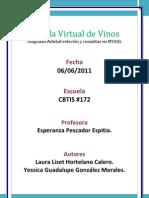 Tienda Virtual de Vinos