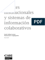 Fuentes Institucionales y Sistemas de ion Colaborativos
