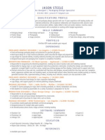 JSteele Graphic Design Resume
