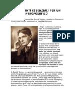Rudolf Steiner - Dodici Punti Essenziali Per Un Lavoro Antroposofico