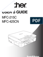 MFC215C User Guide