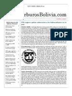 Hidrocarburos Bolivia Informe Semanal Del 30 Mayo Al 05 Julio 2011