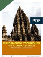 Tutorial 3D Reconstruction - Sunu Wibirama