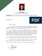 Resume & CV Fakhruddin