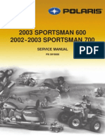 2002 Polaris Sportsman 700 Service Manual