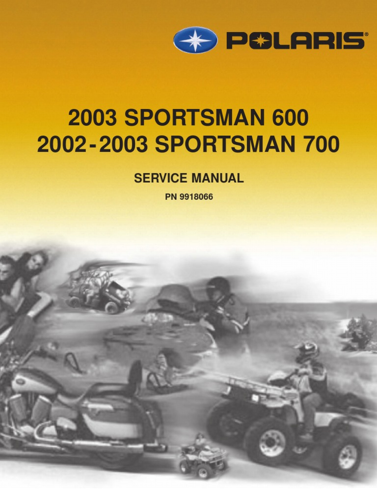 2002 Polaris 700 Sportsman Service Manual Complete Wiring Diagrams Ct Diagram Controller 301a9 Transmission Mechanics Rh Scribd Com