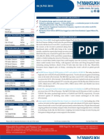 MARKET OUTLOOK FOR 6 June - CAUTIOUSLY OPTIMISTIC