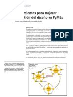 Herramientas para mejorar la gestión del diseño en PyMEs