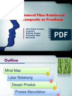 Natural Fiber Reinforced Composite as Prosthesis