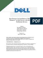 Broadcom Install Best Practices