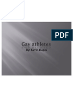 Gay Athletes
