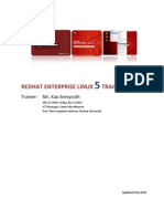 Basic Redhat Enterprise Linux 5 Training