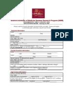 2010 SIMR Application