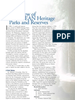 Overview of ASEAN Heritage Parks and Reserves